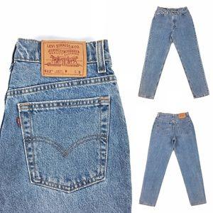 Vintage High Waisted Levi's 512 Jeans